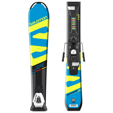 Salomon E X-RACE JR S + E C5 - Junior pályasíléc