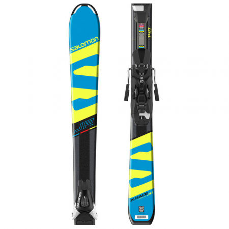 Salomon E X-RACE JR M + E L7 - Narty zjazdowe juniorskie