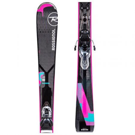Dámske zjazdové lyže - Rossignol PASSION + XPRESS W 10 - 1