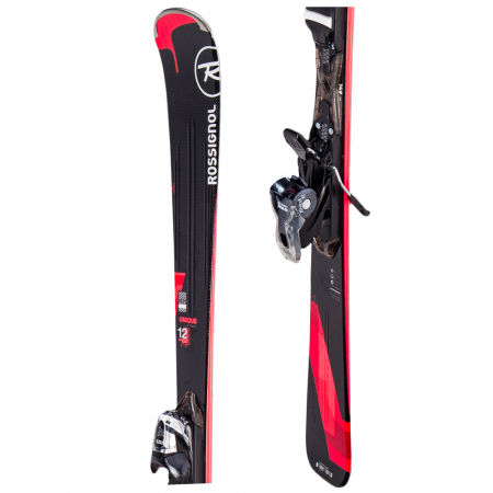 Dámske zjazdové lyže - Rossignol UNIQUE 12 + XPRESS 10 - 1