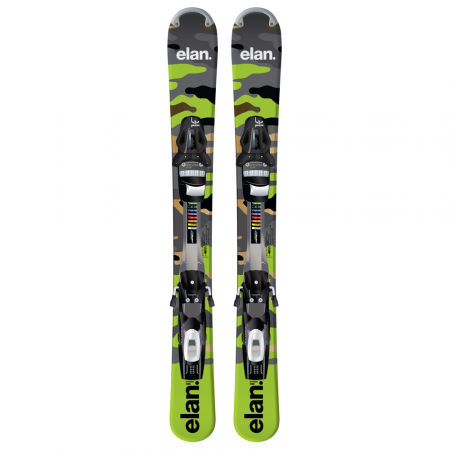 Allmountain sjezdové lyže - Elan FREELINE TRACK + ESP10 - 2