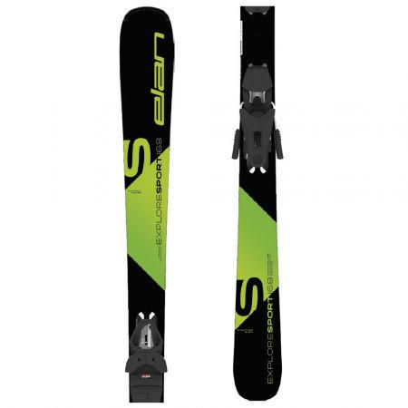 Ски за ски спускане - Elan EXPLORE SPORT LS + EL 9 - 1