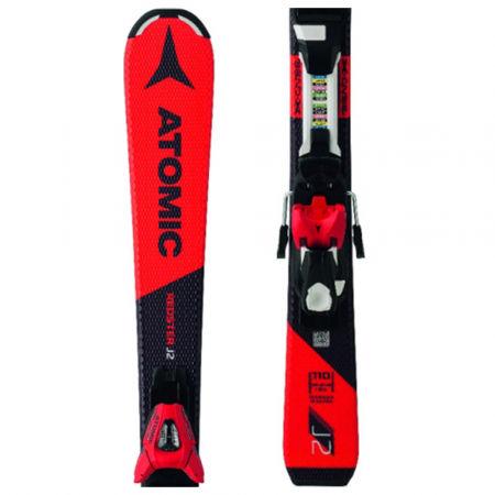 Detské zjazdové lyže - Atomic REDSTER J2 + EC6 - 1