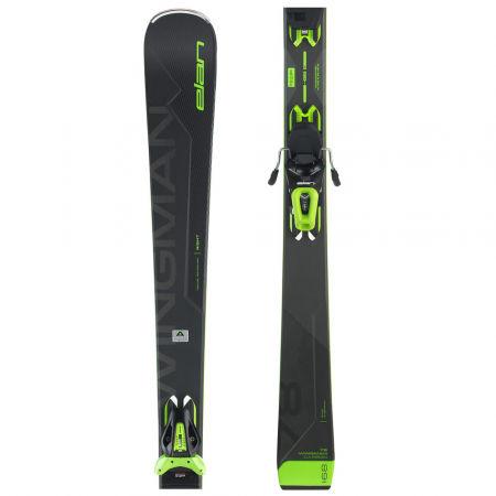 Zjazdové lyže - Elan WINGMAN 78 C PS + EL 10 - 1