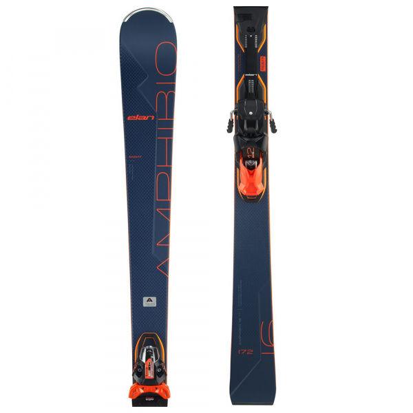 Elan AMPHIBIO 16 TI FX + EMX 12 - Zjazdové lyže