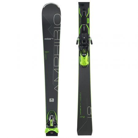 Elan AMPHIBIO 18 TI2 FX + EMX 12 - Zjazdové lyže