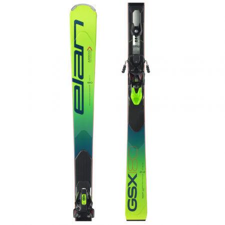 Elan GSX FX + EMX 12 - Závodní sjezdové lyže