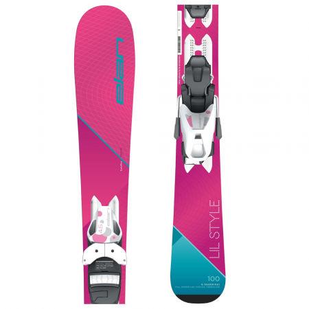 Elan LIL STYLE QS + EL 4.5 - Момичешки ски за спускане
