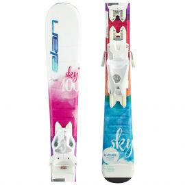 Elan SKY QS + EL 7.5 - Dievčenské zjazdové lyže