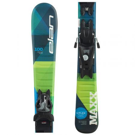 Elan MAXX QS + EL 7.5 - Chlapčenské zjazdové lyže