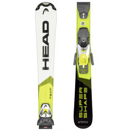 Head SUPERSHAPE TEAM SLR PRO + SLR 7.5 - Детски ски