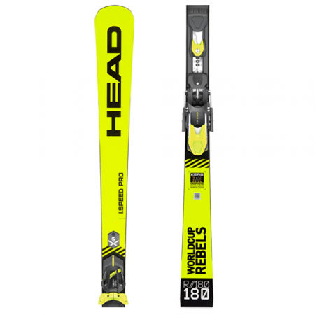 Head WC REBELS I.SPEED PRO SW + FF EVO 11 - Ski set