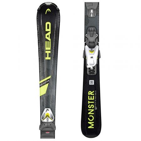 Head MONSTER SLR + SLR 4.5 AC - Kids' downhill skis