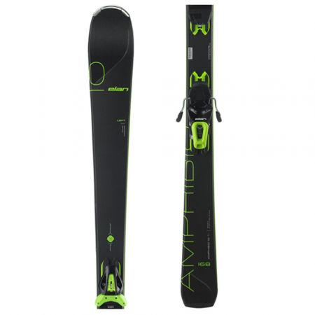 Elan AMPHIBIO 10 TI PS + EL 10 - Zjazdové lyže