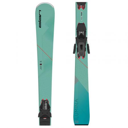 Dámské sjezdové lyže - Elan ILUMINA PS + ELW 9 - 1