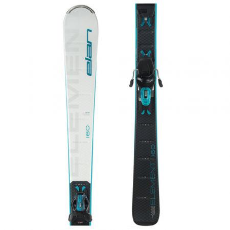 Elan ELEMENT WHITE BLUE LS + ELW 9 - Dámské sjezdové lyže