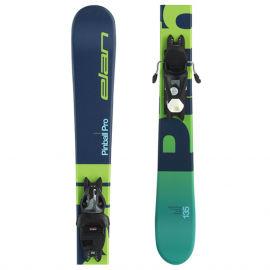 Elan PINBALL PRO QS + EL 7.5 WB - Младежки ски за спускане