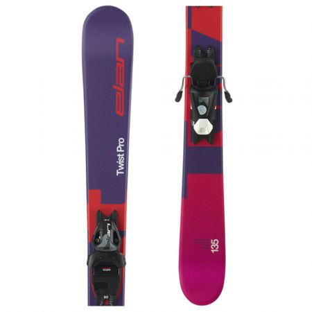 Elan TWIST PRO QS + EL 7.5 WB - Juniorské zjazdové lyže