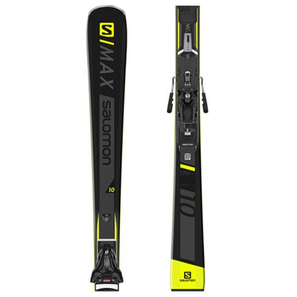 Salomon S/MAX 10 + Z12 GW  165 - Zjazdové lyže pre mužov aj ženy