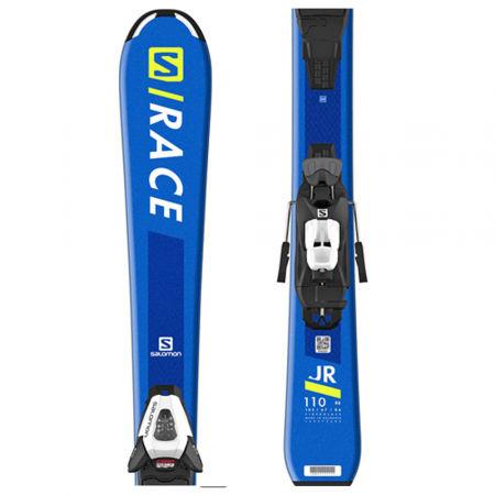Dětské sjezdové lyže - Salomon S/RACE Jr S + C5 GW - 1