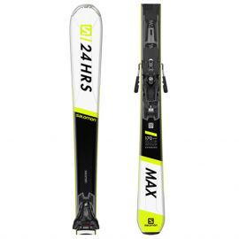 Salomon 24 HOURS MAX + Z12 GW - Unisex sjezdové lyže