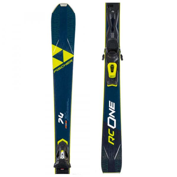 Fischer RC ONE 74 AR + RS 10 PR - Zjazdové lyže