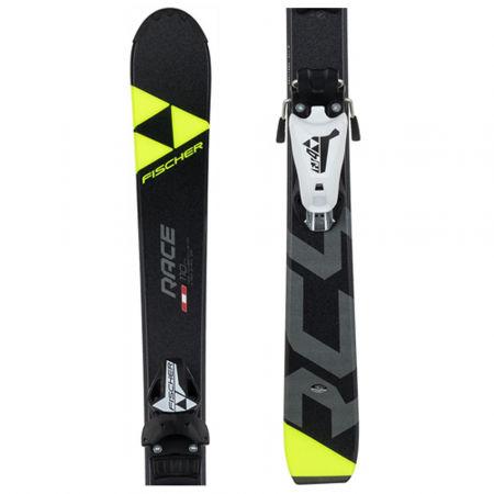 Zjazdové lyže - Fischer RC4 RACE JR+FJ7 AC - 1