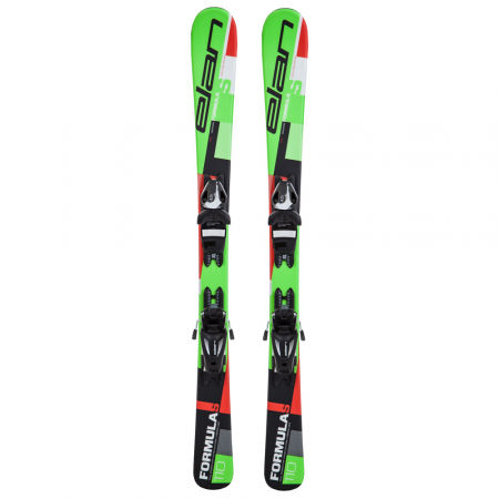 Children's downhill skis - Elan FORMULA S QS + EL 4.5 - 2
