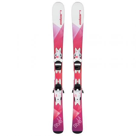 Children's downhill skis - Elan LIL STYLE QS+EL 4.5 - 2