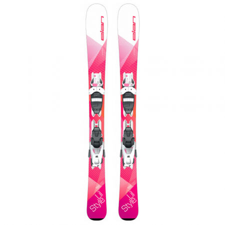 Children's downhill skis - Elan LIL STYLE QS+EL 7.5 - 2