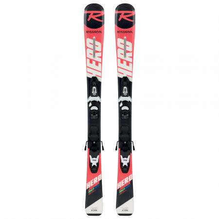 Младежки ски за ски спускане - Rossignol HERO JR + KID-X 4 B76 - 2