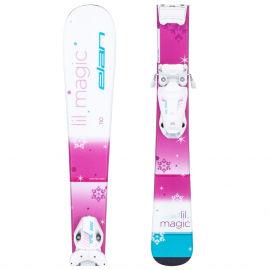Elan LIL MAGIC + EL 4.5 GW AC - Dívčí sjezdové lyže
