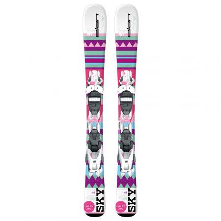Dívčí sjezdové lyže - Elan SKY QS + EL 4.5 - 2