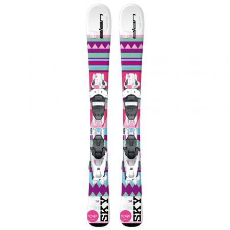Ски за момичета - Elan SKY QS + EL 7.5 - 2