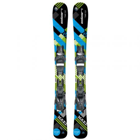 Chlapecké sjezdové lyže - Elan MAXX BLK BLUE QS + EL 7.5 - 2