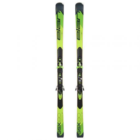 Pretekárske zjazdové lyže - Elan GSX FUSION + ELX 12 - 2