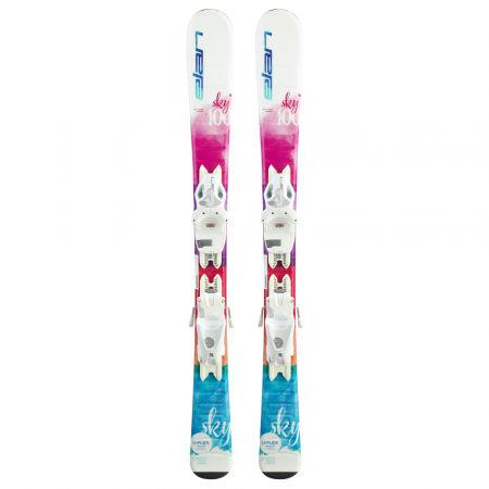 Dívčí sjezdové lyže - Elan SKY QS + EL 7.5 - 2