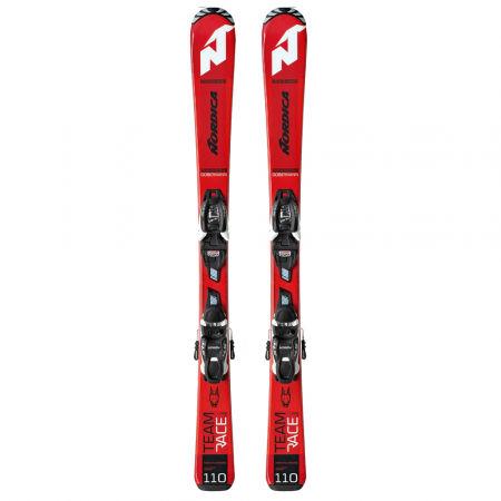 Dětské sjezdové lyže - Nordica TEAM J RACE FDT + JR 7.0 - 2