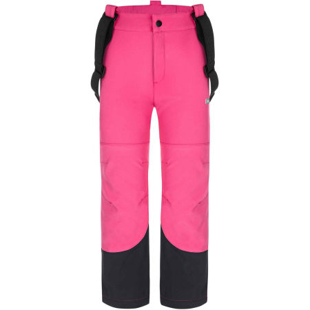 Loap LOCON - Pantaloni softshell copii