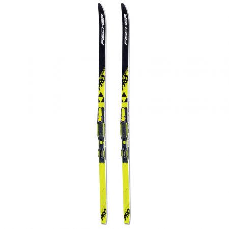 Bežecké lyže - Fischer SET SKIN PRO JR + TOUR-IN JR - 2