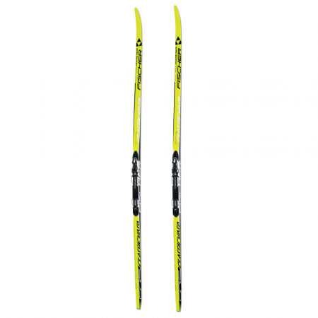 Bežecké lyže na klasiku s hladkou skĺznicou - Fischer CRS CLASSIC NIS + RACE CLASSIC - 2