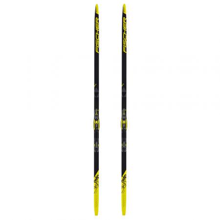 Bežecké lyže na klasiku so stúpacími pásmi - Fischer TWIN SKIN PRO STIFF + CONTROL IFP - 2