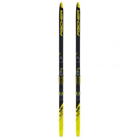 Juniorské bežecké lyže na klasiku so stúpacími pásmi - Fischer TWIN SKIN PRO JR + XC-BINDING TOUR STEP-IN JR IFP - 2