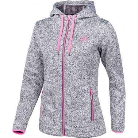 Women's fleece sweatshirt in pullover design - Willard MARIONA - 2