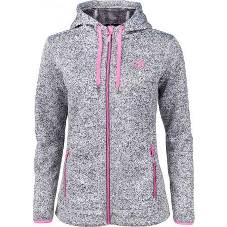 Women's fleece sweatshirt in pullover design - Willard MARIONA - 1