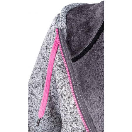 Women's fleece sweatshirt in pullover design - Willard MARIONA - 4