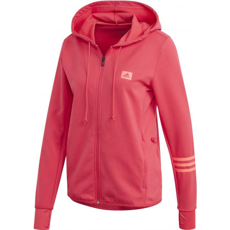 Hanorac de femei - adidas DESIGNED TO MOVE MOTION FULLZIP HOODIE - 1