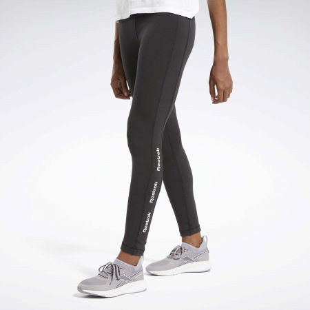 Women's tights - Reebok TE LINEAR LOGO CT LEGGING - 3