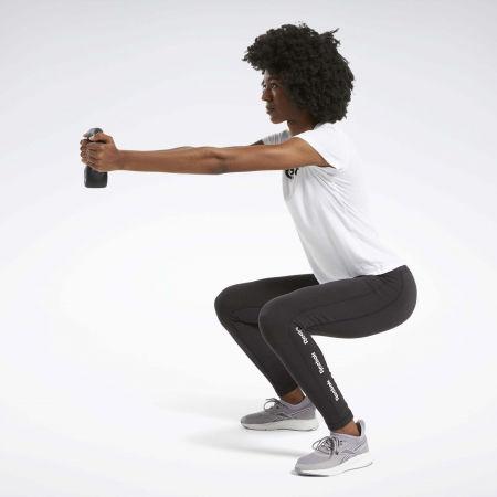 Women's tights - Reebok TE LINEAR LOGO CT LEGGING - 4