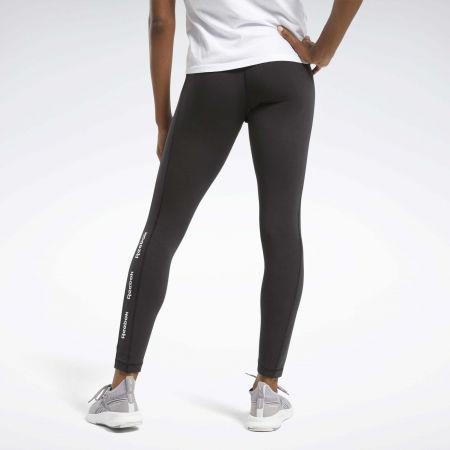 Women's tights - Reebok TE LINEAR LOGO CT LEGGING - 5